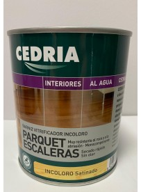 0.75L CEDRIA BARNIZ PARQUET-ESCAL. SATIN.